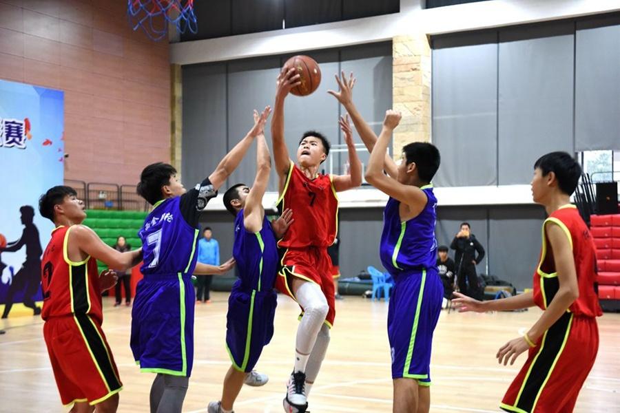 广西青少年体育俱乐部联赛男子3v3篮球比赛落幕