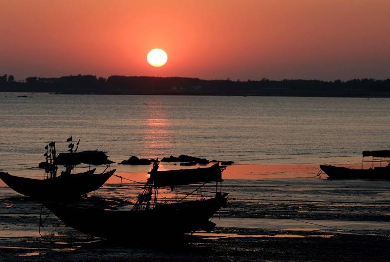 高清图集:钦州三娘湾冬日美景绚丽如画