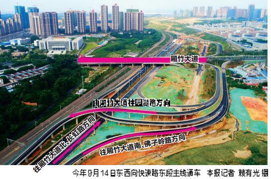 """南宁市从城东到城西将大为""""提速""""  明年全线通车"""