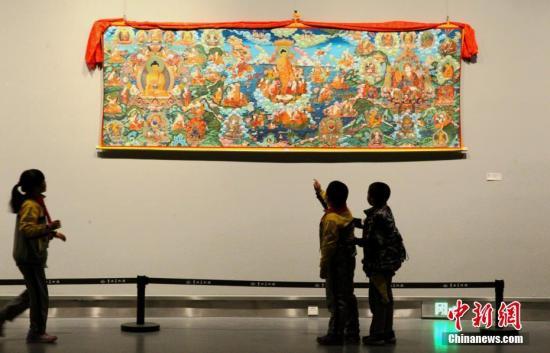 """中国""""藏画之乡""""建立唐卡质量信息追溯体系"""