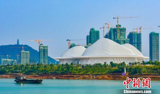 广西文化艺术中心竣工 三项技术国内领先