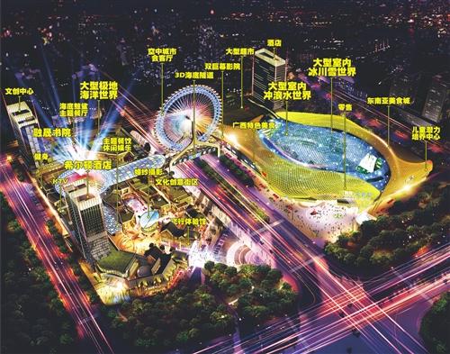 南宁创建国度全域旅游示范区 将现升级版海洋王国