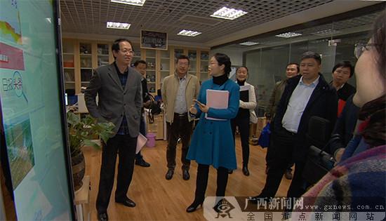 来宾市委常委、宣传部长、副市长韦凤云一行考察广西日报传媒集团