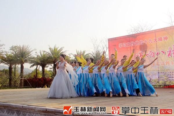 唱响八桂中国梦 艺术精品到基层