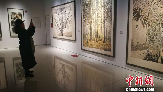 国家画院国画作品展集中呈现新中国50位艺术家作品