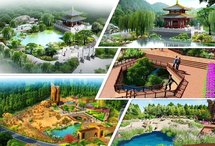 第十二届园博会展园提前看:乌鲁木齐园与西安园