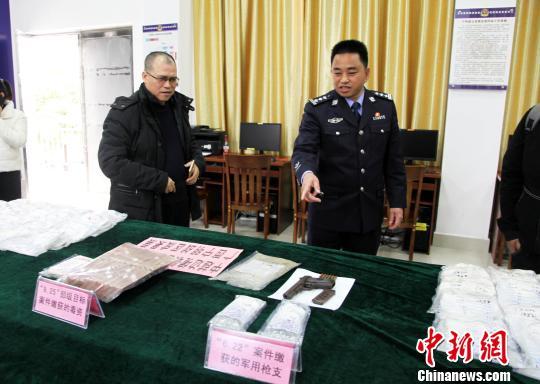 中越边境开展联合扫毒行动广西宁明缴获毒品42公斤