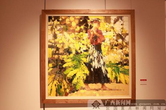 丹青不渝 新风入卷 广西书画院2017书法美术作品展开展