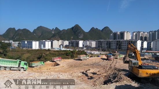 生态民族新城初级中学建设有序推进