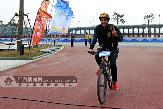 2017环北部湾骑闯天路自行车挑战赛在防城港举行