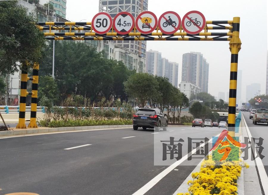 柳州市文昌路下穿通道临时检修 电动车禁止通行