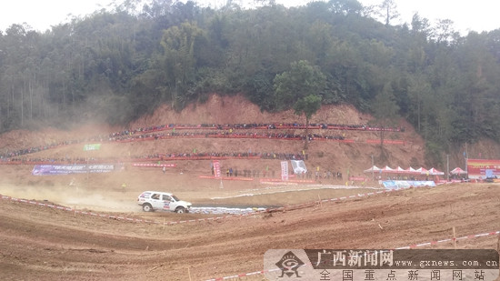 广西·岑溪越野汽车场地赛在梧州完赛