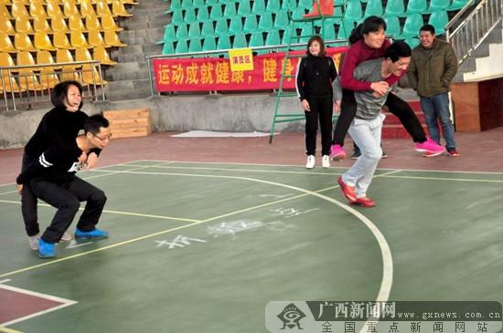 昭平县元旦期间举行群众体育比赛活动