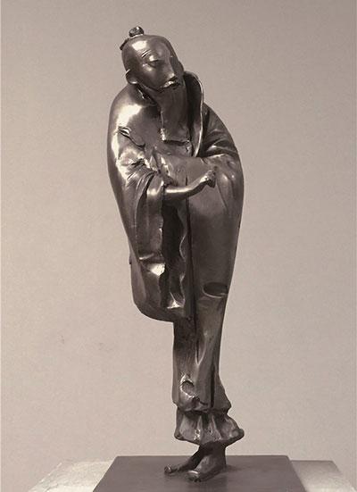质朴洗练、高古文气:李象群雕塑《元四家》