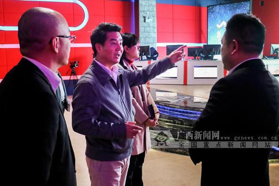 南宁市江南区长黄海韬调研中国—东盟电竞产业园