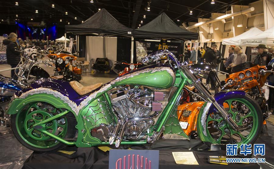 (国际)(4)多伦多举办北美国际摩托车展