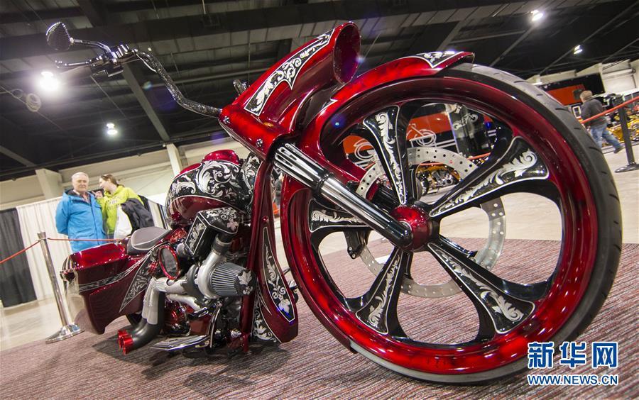 (国际)(1)多伦多举办北美国际摩托车展