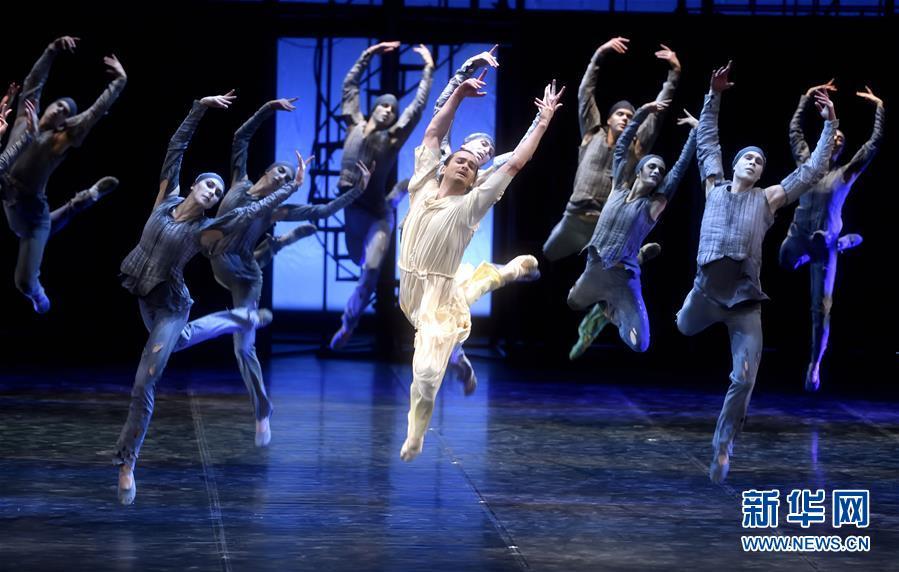 (文化)(3)芭蕾舞剧《卡拉马佐夫兄弟》在京演出