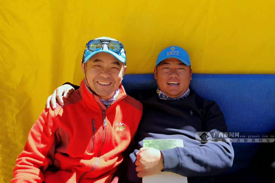 广西新闻网:攀登阿空加瓜峰向导队伍强大