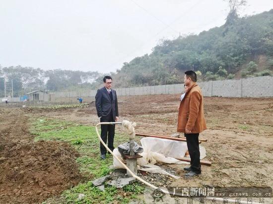 农行田东县支行积极介入环球集团新项目建设