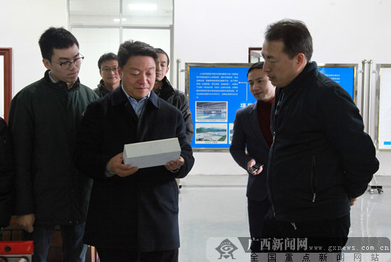 中新(重庆)项目管理局到凭祥综合保税区调研
