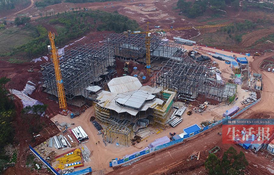南宁:园博园将于2018年12月初全面建成开放(组图)