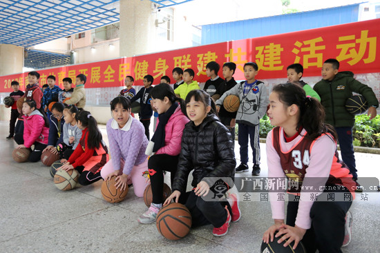 手机pt电子技巧市全民健身联建共建:篮球进校园 孩子动起来