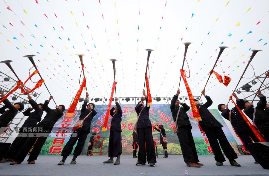 """凌云举行""""蓝靛节""""活动 上演精彩民族歌舞(组图)"""