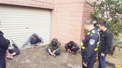 盗窃团伙作案被发现 竟用烟花鞭炮来报复物业保安