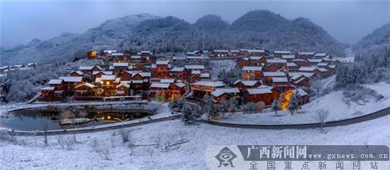 """""""南国冰雪城·贵州六盘水""""冬季旅游推介会在南宁举办"""