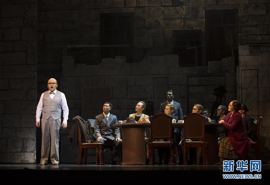 (文化)(3)第三届中国歌剧节闭幕 原创歌剧《拉贝日记》压轴