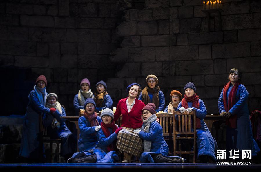 (文化)(1)第三届中国歌剧节闭幕 原创歌剧《拉贝日记》压轴