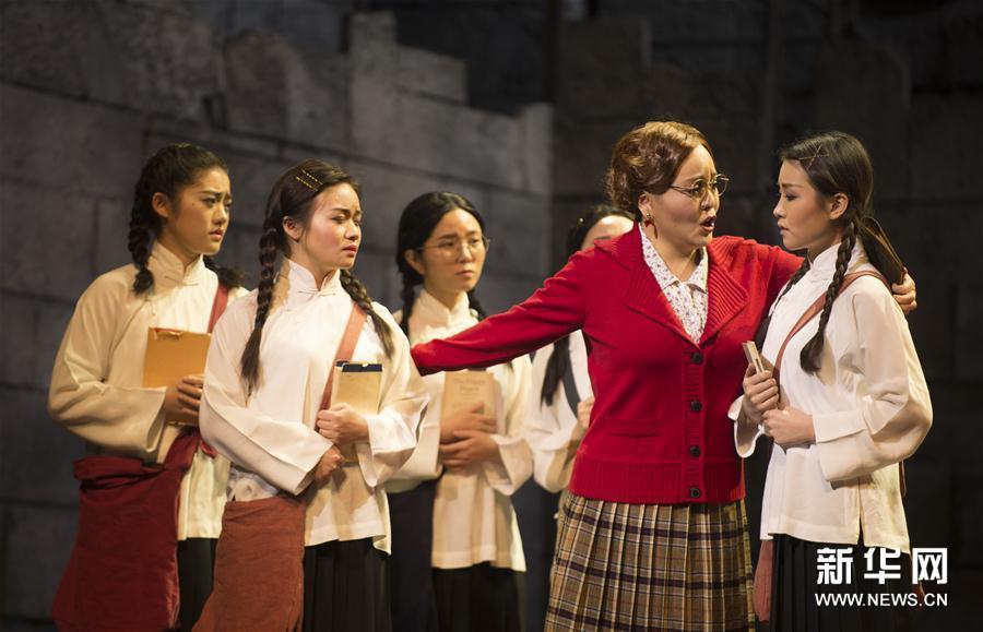 (文化)(2)第三届中国歌剧节闭幕 原创歌剧《拉贝日记》压轴