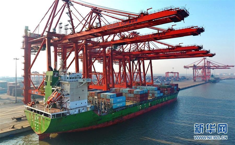 (经济)(2)唐山港2017年货物吞吐量创历史新高