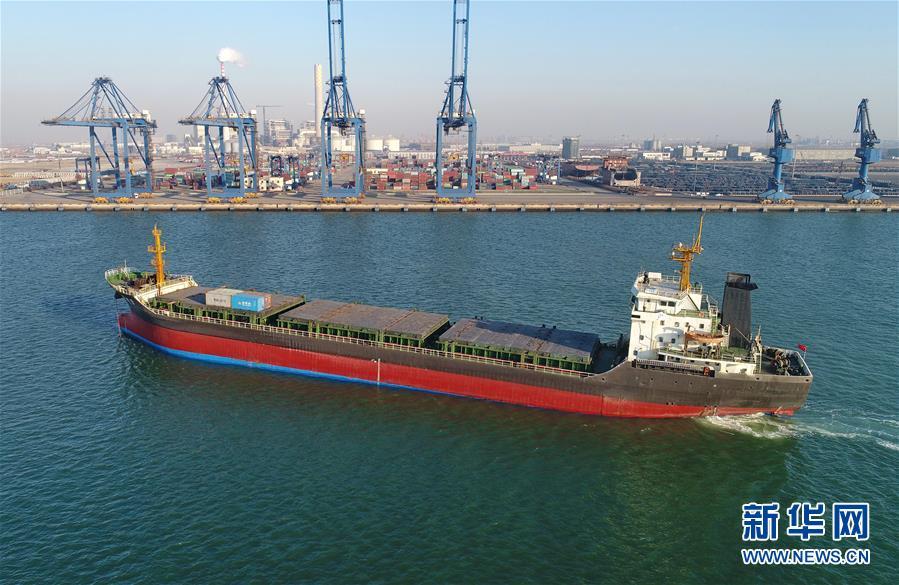 (经济)(3)唐山港2017年货物吞吐量创历史新高