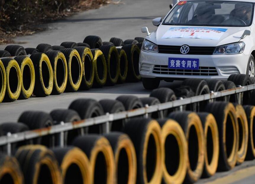 江苏省高校首届汽车驾驶员职业技能大赛举行