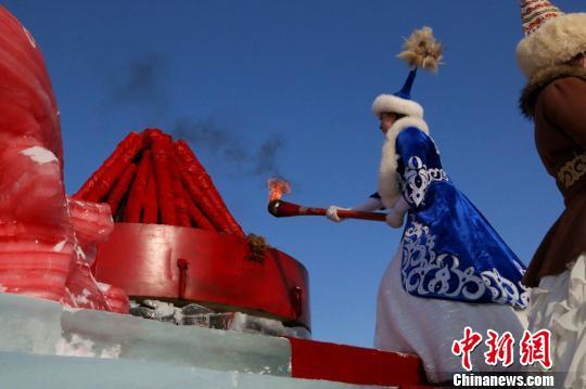 第十三届乌伦古湖冬捕节将开幕富有马背民族韵味