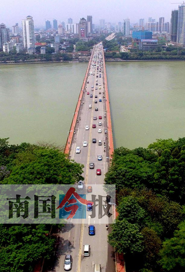 高清组图:看过来!柳州市最全跨江大桥地图在这里