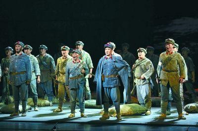 国家大剧院首次征战中国歌剧节 《长征》连演两场满堂彩