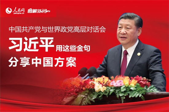 图解:习近平用这些金句分享中国方案