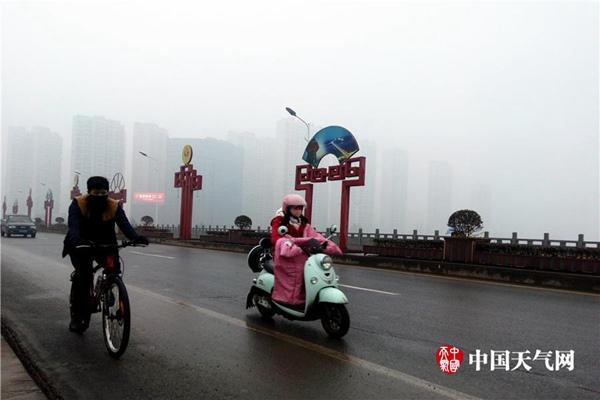 华北等地今日霾散明天再起 苏皖浙有大雾