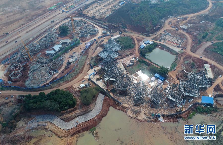 第十二届中国(手机pt电子技巧)国际园林博览会工程进展顺利