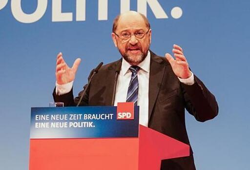 德国社民党主席呼吁党内支持参与组阁谈判