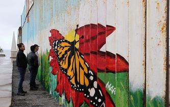 探访美墨边境隔离墙