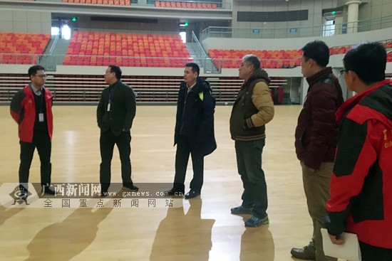 中国羽协检查2019苏迪曼杯比赛场馆设施建设情况