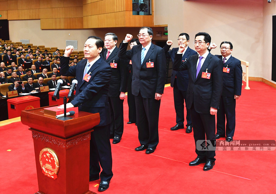 自治区十三届人大一次会议举行第三次全体会议