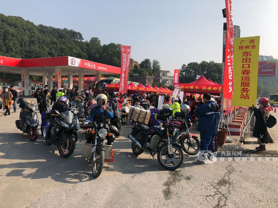 高清:2018年春运大幕开启 广西多举措保障回家路