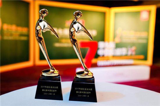 合众人寿蝉联中国公益节两项大奖