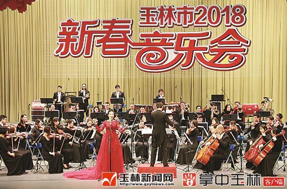 玉林市举行2018年新春音乐会