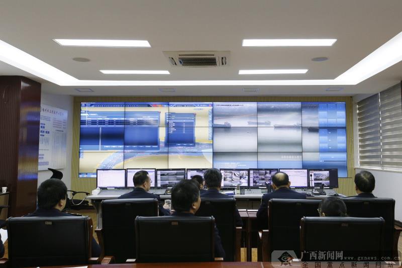 广西内河首个船舶交通管理信息系统投入试运行